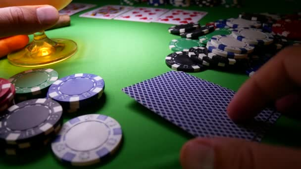 Double Aces Poker chips. Vincitore nel Poker