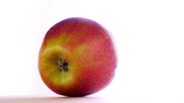 Fresh Juicy Yellow Red Apple
