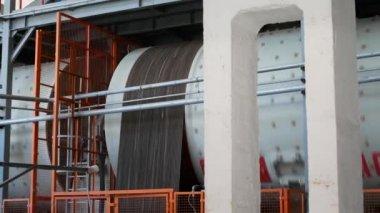 Industriale interno forno a tunnel per la cottura di piastrelle