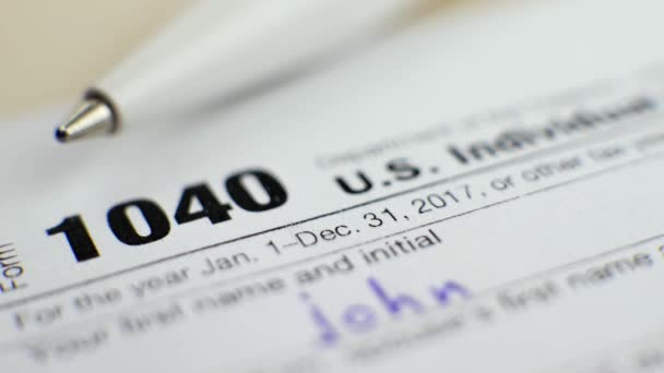 Nás individuální daňové přiznání formulář 1040