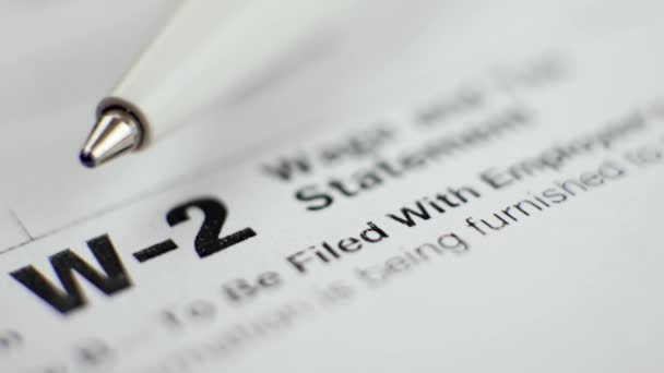 w-2 Steuerformular