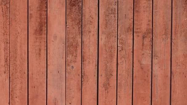 Červená starý malovaný dřevěný povrch pro texturu pozadí