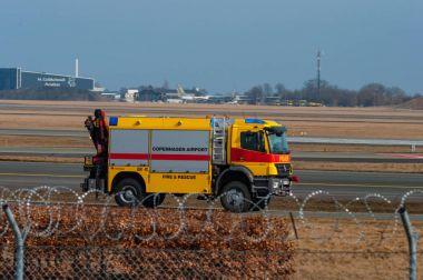 Copenhagen airport fire and Rescue truck