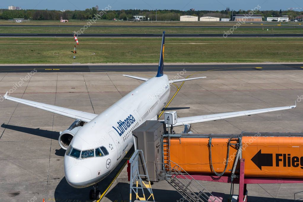 Ankunft Lufthansa
