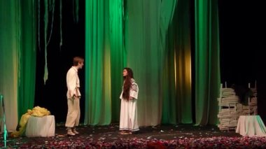 Dramatic performances Forest song