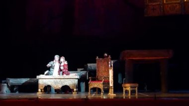 Classical opera Borys Godunov
