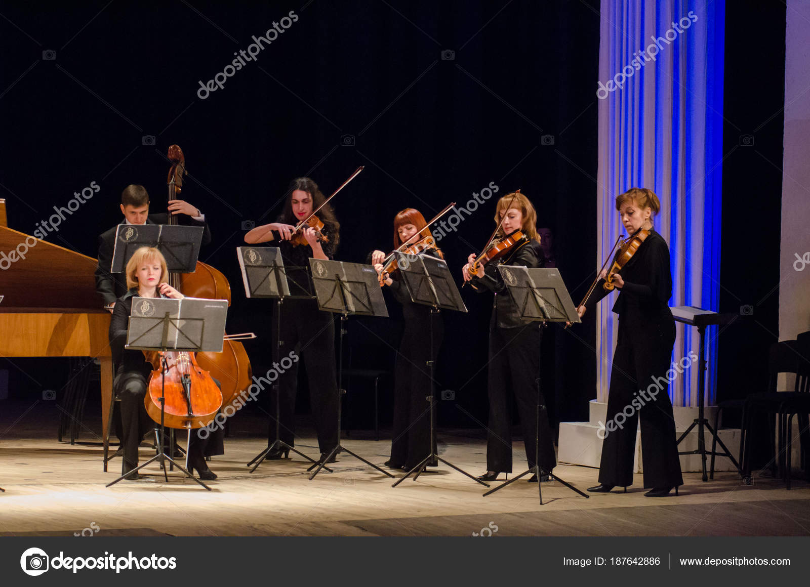 Four seasons Chamber Orchestra – Stock Editorial Photo