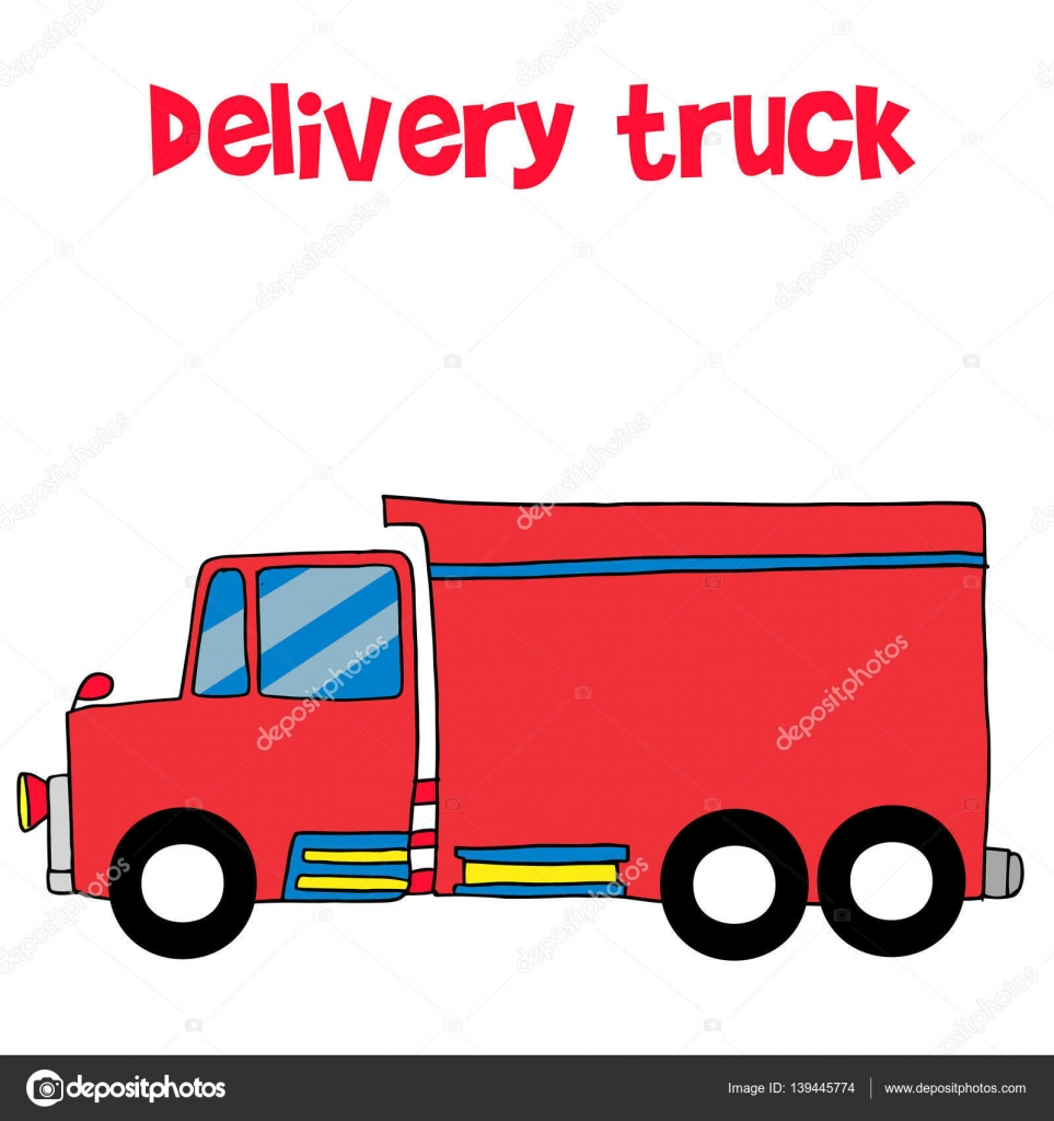red delivery truck vector art stock vector kongvector 139445774 rh depositphotos com vector trucking vector trucking llc