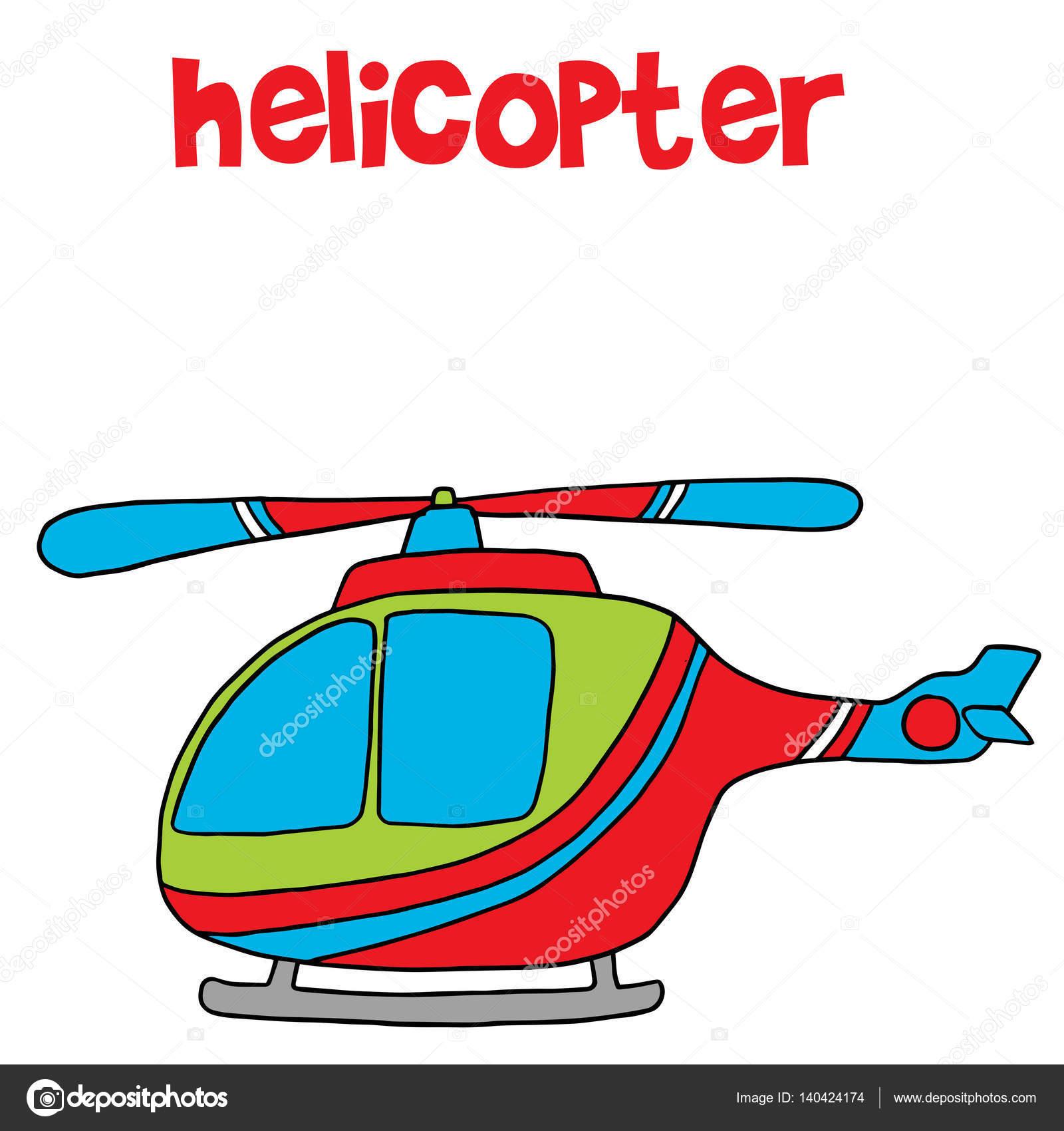 Elicottero Immagini Per Bambini : Transporte de dibujos animados helicopteros para niños