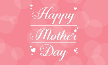 Happy mother day vector art