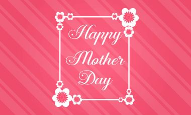 Collection stock mother day theme background