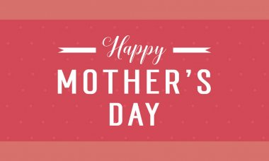 Collection stock mother day background