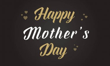 Happy mother day background collection stock