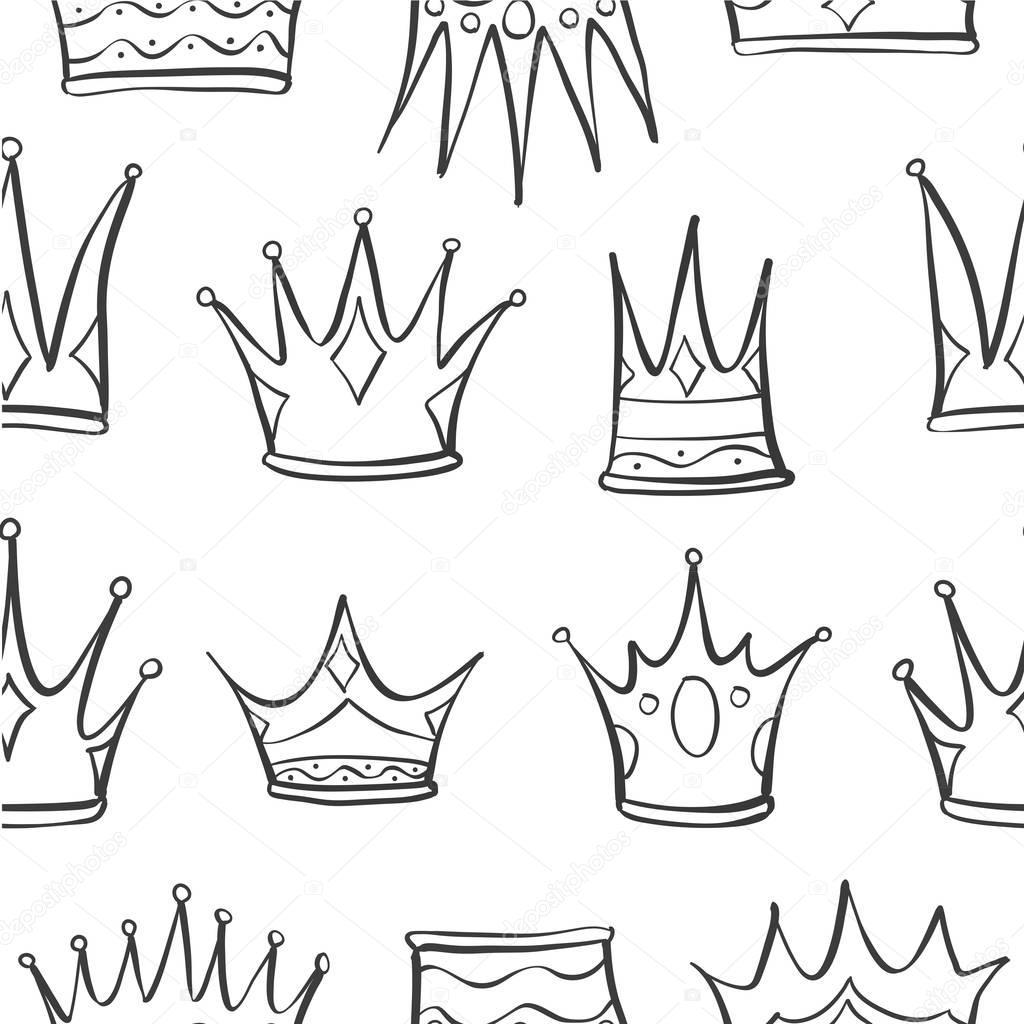 Krone Zeichnen
