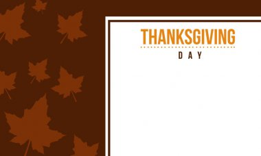 Thanksgiving day background collection stock