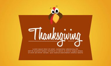Thanksgiving background style collection stock