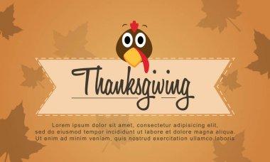 Background Thanksgiving style collection stock