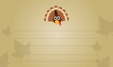 Thanksgiving greeting card collection stock