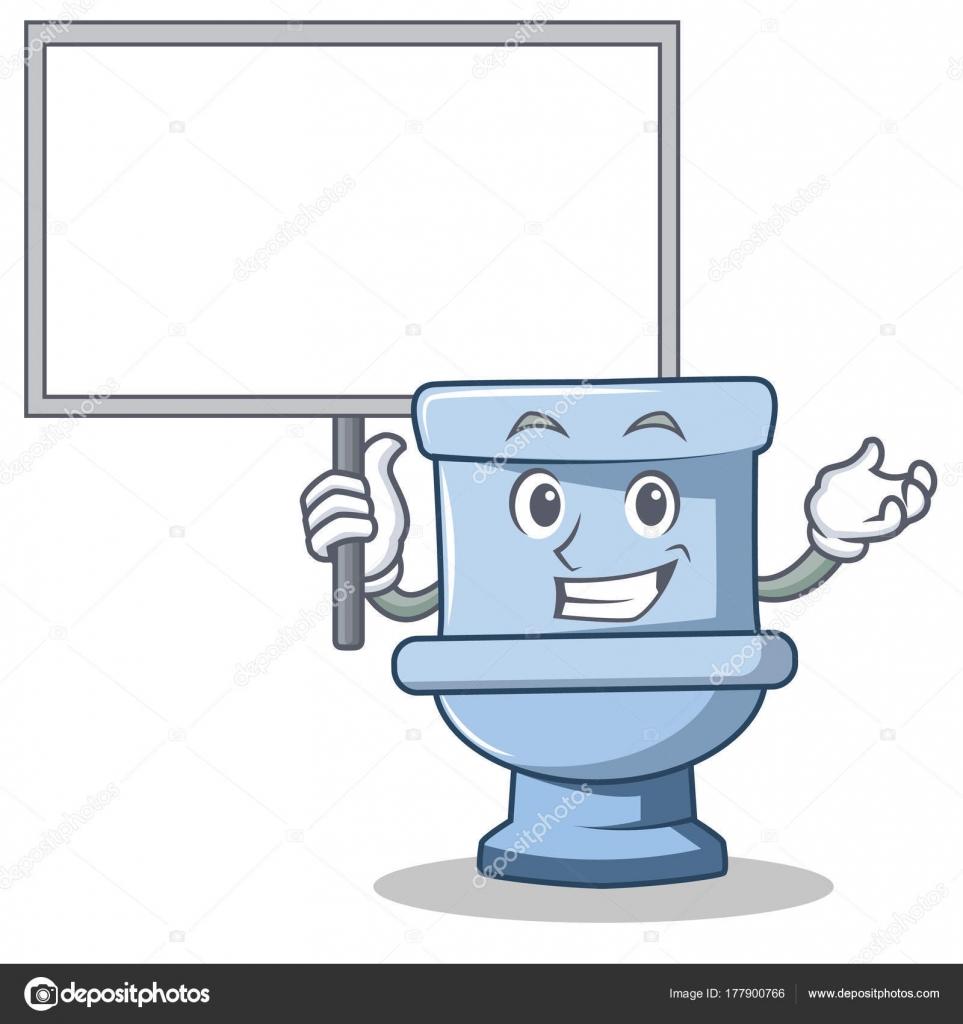 Portare lo stile bordo wc carattere del fumetto for Wc immagini