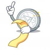 With menu Tron coin character cartoon