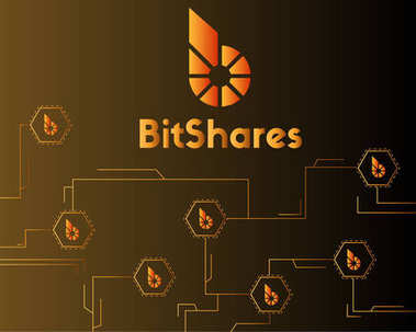 BitShares cryptocurrency digital payment style background