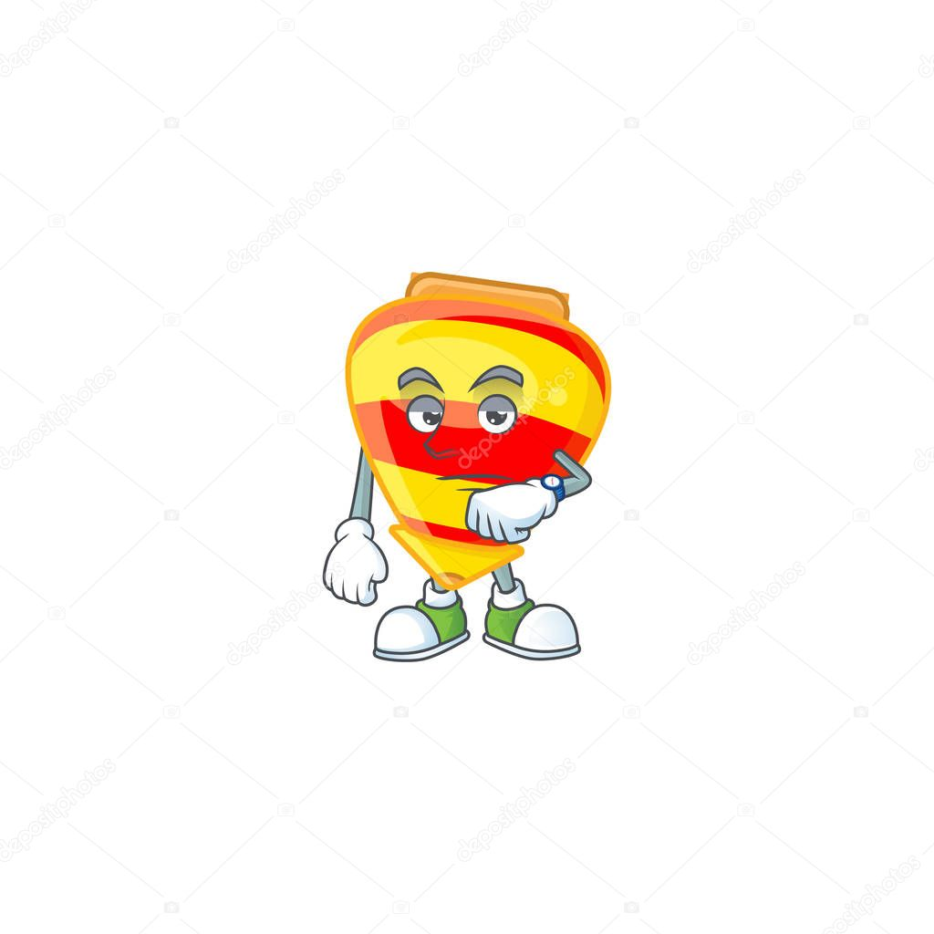 Cartoon Character Design Of Chinese Gold Tops Toy On A Waiting Gesture Vector Illustration Premium Vector In Adobe Illustrator Ai Ai Format Encapsulated Postscript Eps Eps Format
