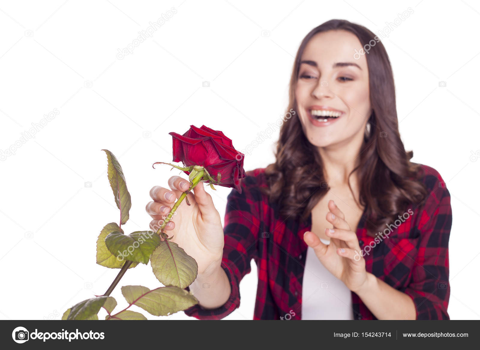 Beautiful woman with flower stock photo saragolfartgmail beautiful woman with flower stock photo izmirmasajfo