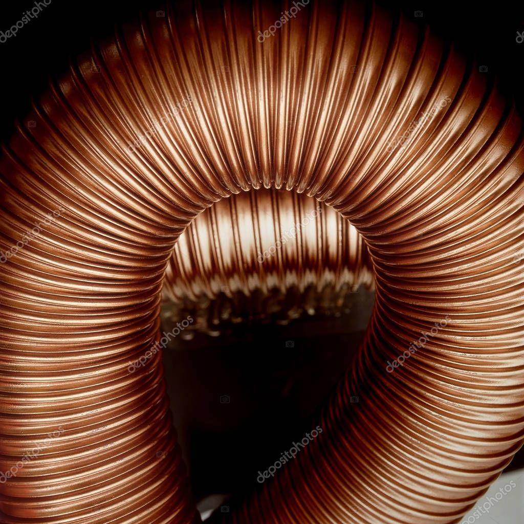 Beautiful ruffled tube