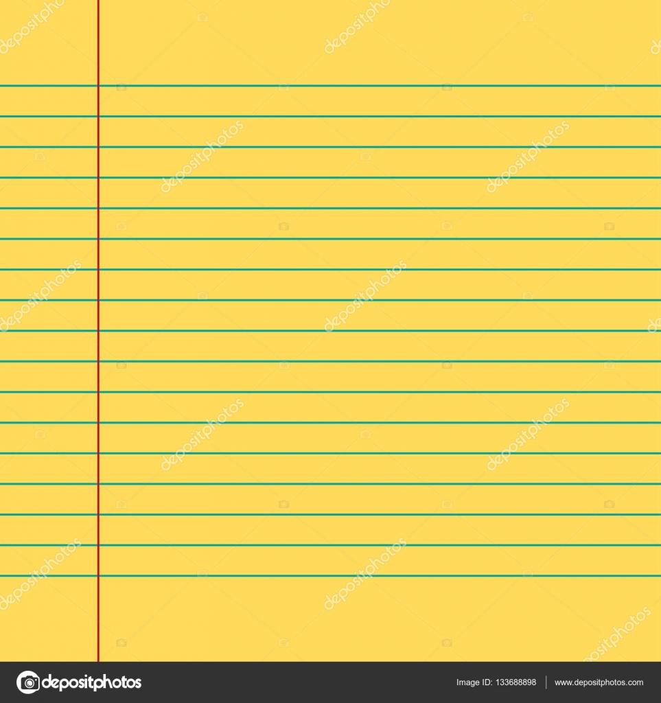 Una página hoja escuela escritura ejercicio libro de papel con ...