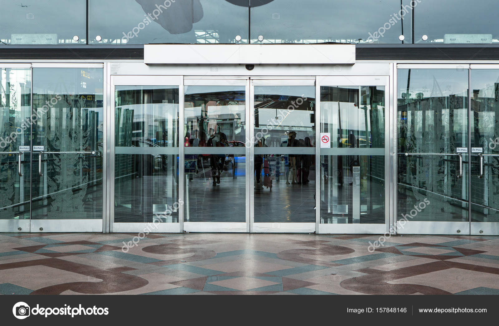 Airport terminal building gate entrance and automatic glass door airport terminal building gate entrance and automatic glass doo photo by bill45 planetlyrics Image collections