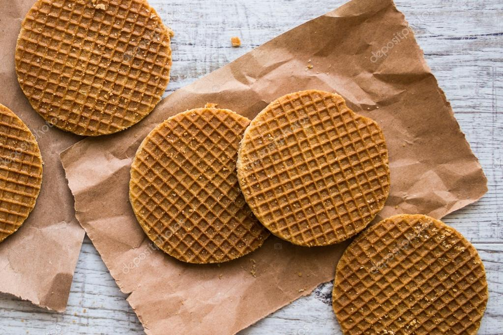 Stroopwafels Or Dutch Waffles With Caramel Stock Photo Image By C Alp Aksoy 125658992