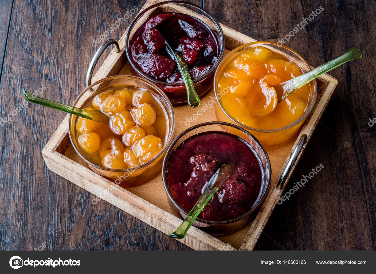 confiture abricot prune