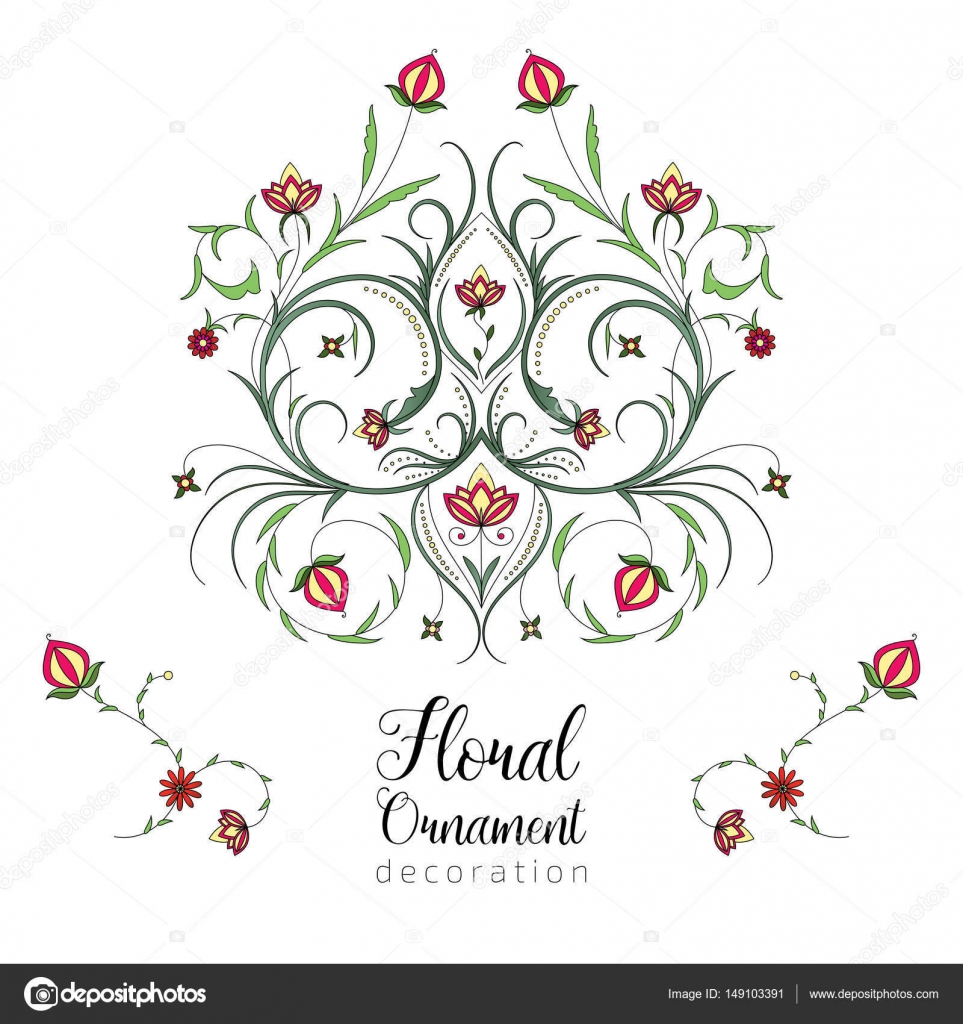 Vintage vector floral ornament for invitations to a wedding vintage vector floral ornament for invitations to a wedding anniversary greeting cards m4hsunfo