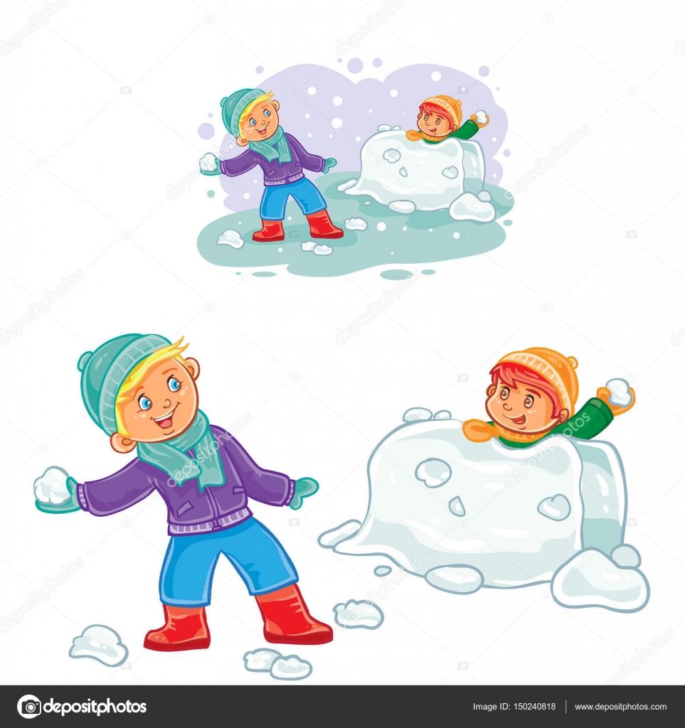 Okul öncesi Kış Mevsimi çizim