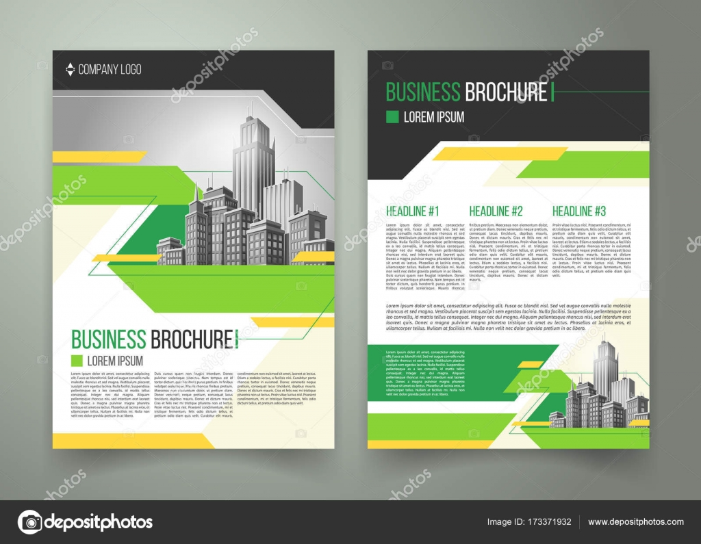 Folleto sobre el vector dise o de la cubierta folleto de for Paginas inmobiliarias