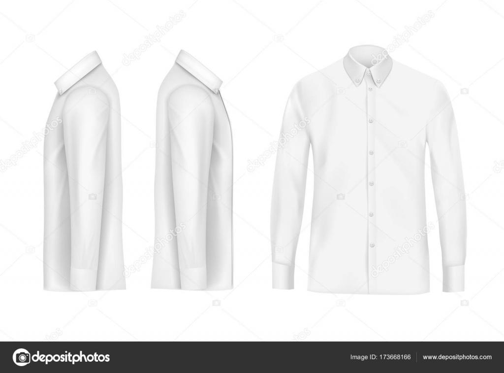 Descargar patron camisa hombre   Camisa blanca de hombre con