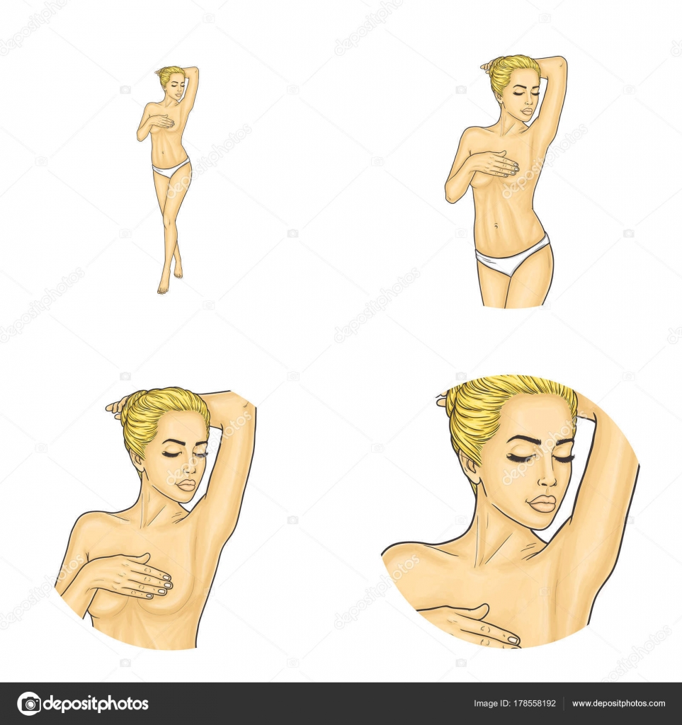 Covered head Naked women