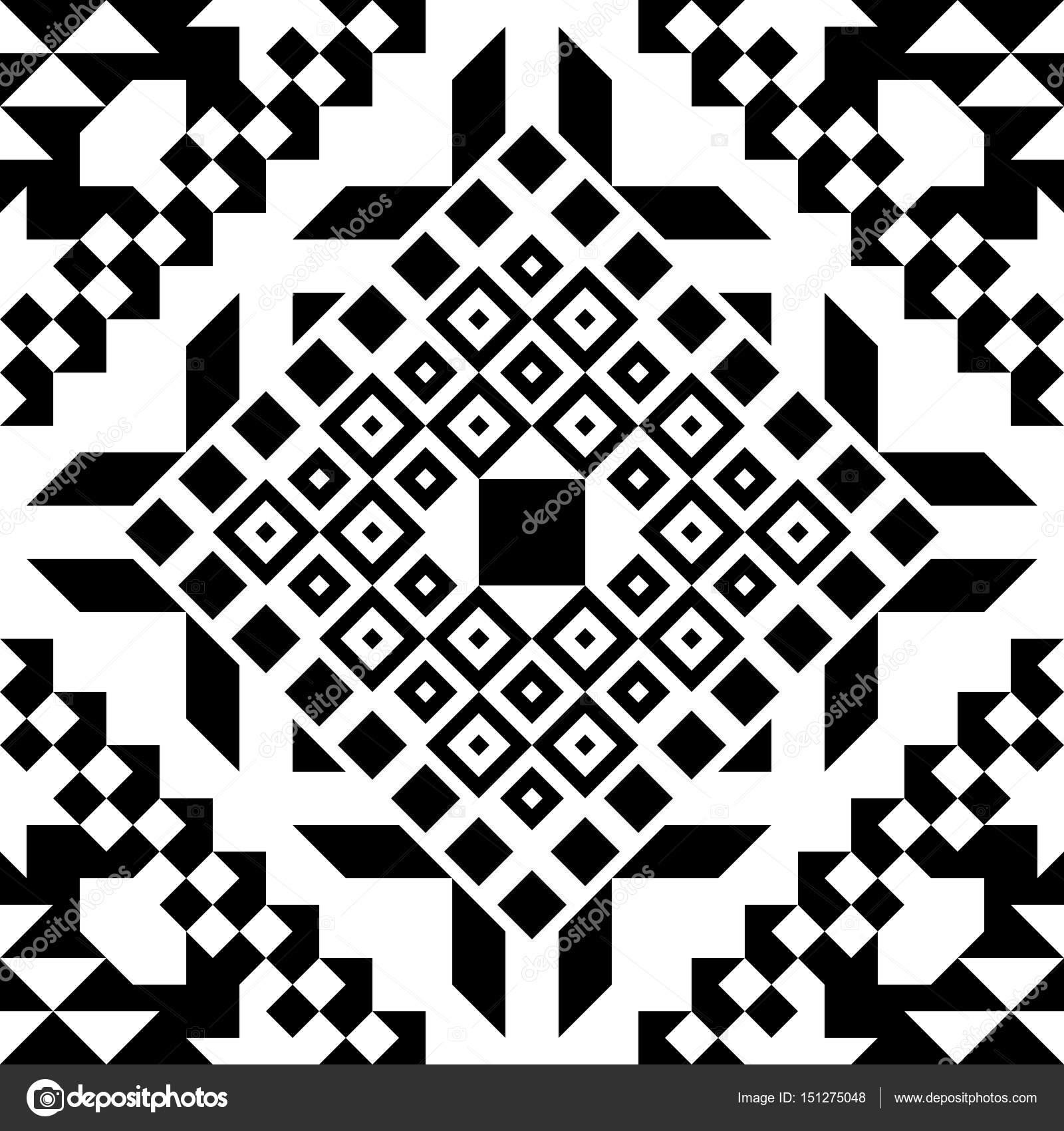 Ethnic Tribal Seamless Pattern Geometric Ornamental illustration