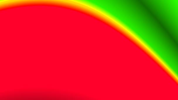 abstraktní barevná vlna