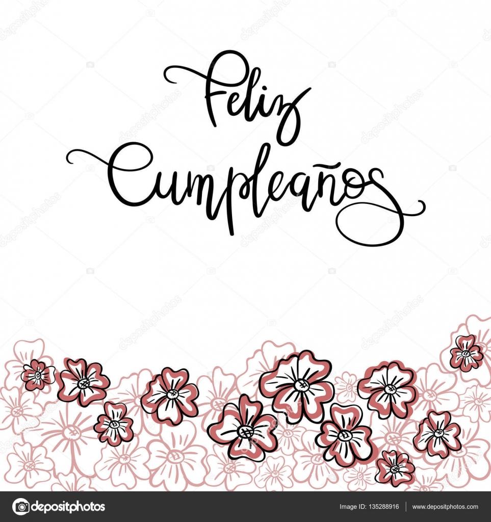Feliz cumpleanos happy birthday spanish text greeting - Feliz cumpleanos letras ...