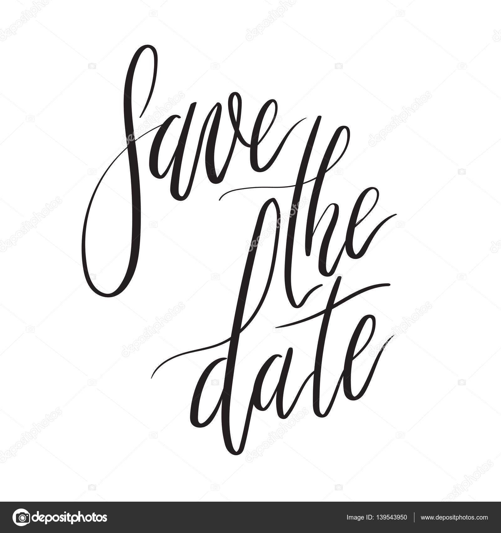 Zapisz Data Strony Napis Card Zaproszenie Na ślub Z Napisem