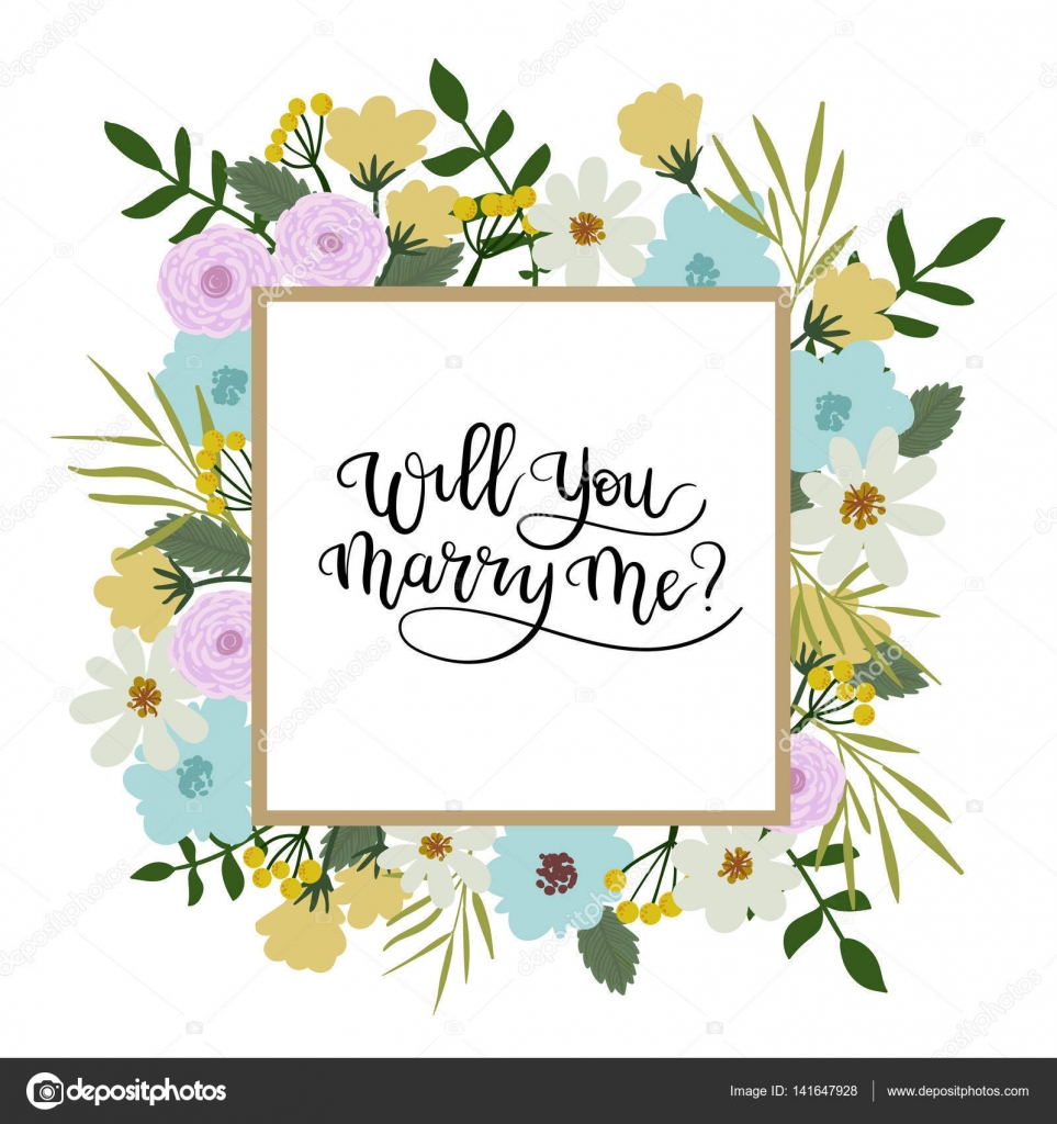 Will You Marry Me Clip Art