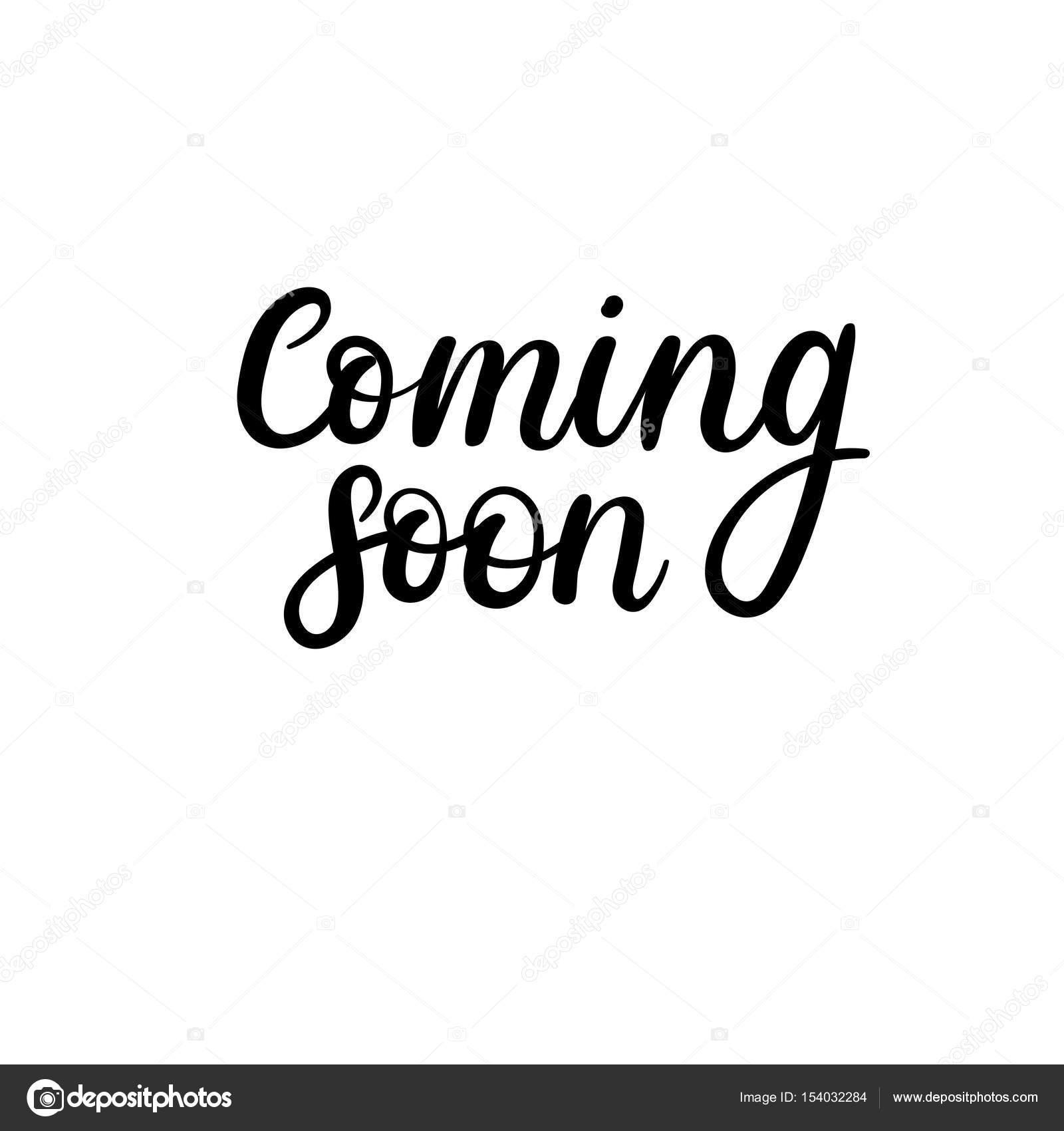 780599370abd78 Binnenkort beschikbaar. Vector hand belettering uitdrukking voor spandoek