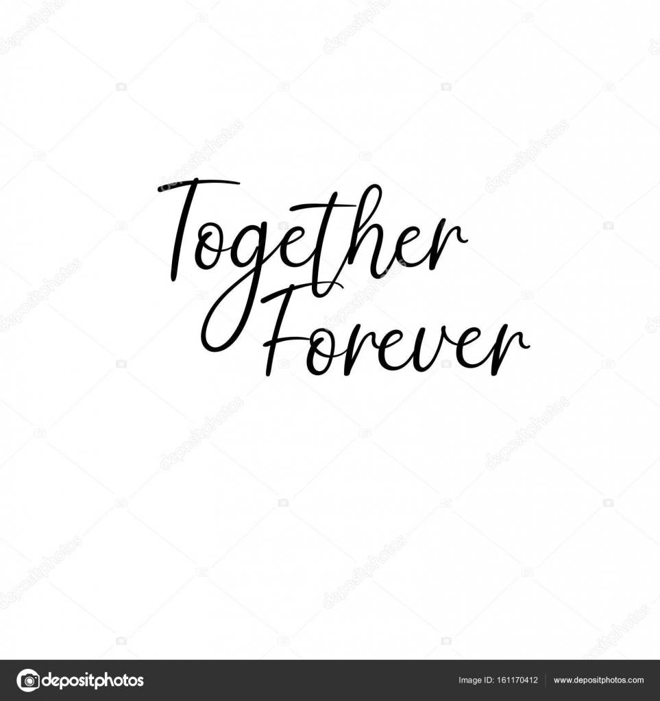 Imágenes Siempre Juntos Siempre Juntos Escrito A Mano