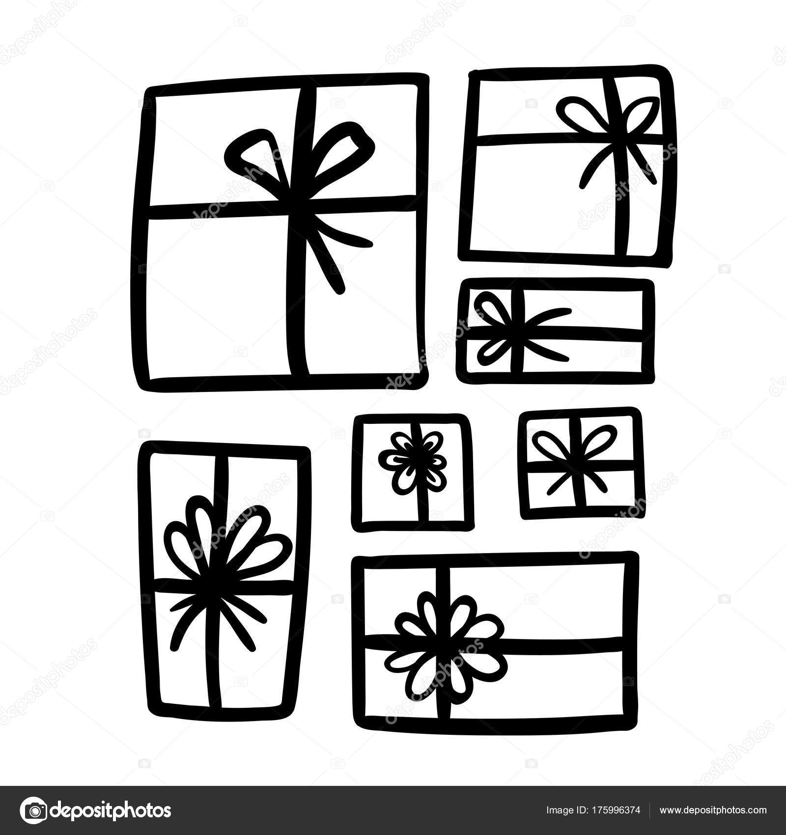 Geschenke. Weihnachten Vektor clipart — Stockvektor © anmark #175996374