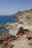 Photo The wild coastline of Cabo the Gata, in Andalusia.