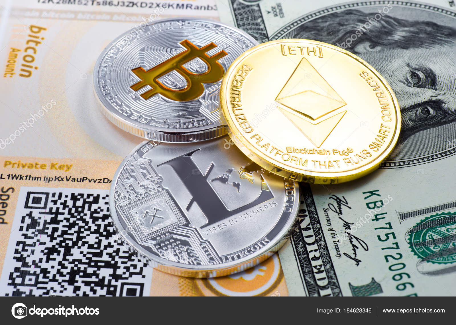 ethereum bitcoin and litecoin