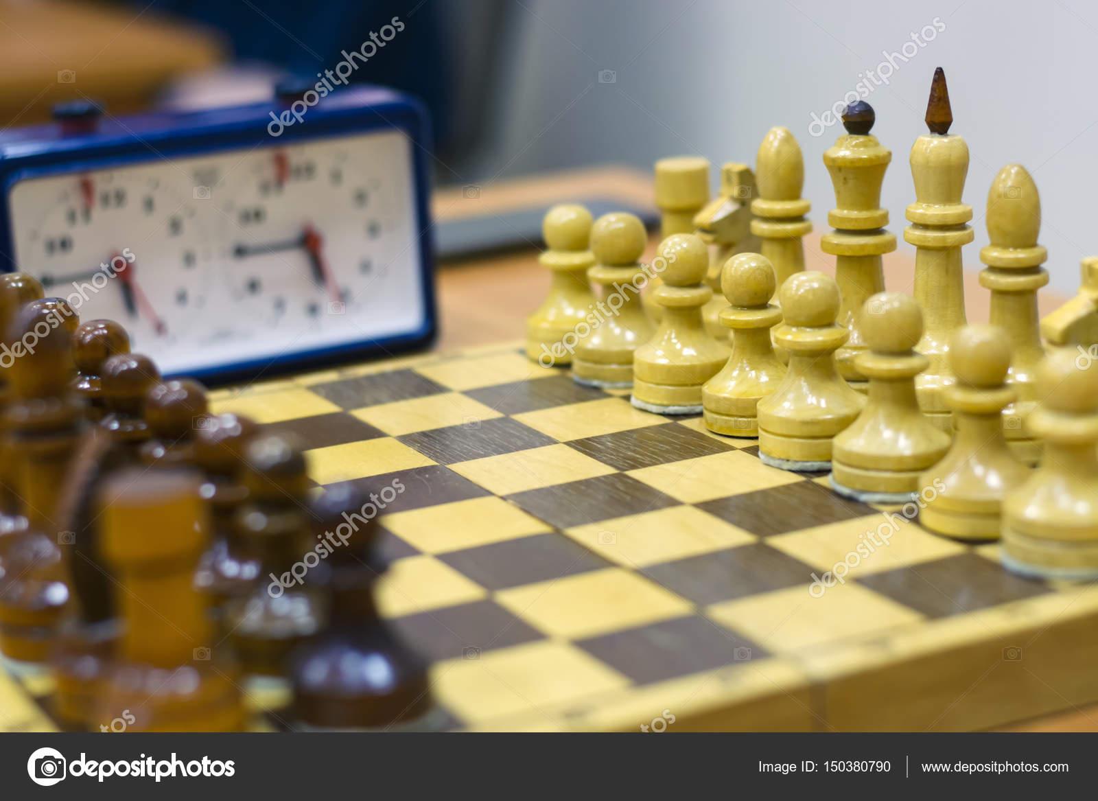 Torneo De Ajedrez Parte Del Campeonato En Inteligencia Competencia