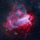 Az Omega-köd - Hattyú-köd a Nyilas csillagképben.