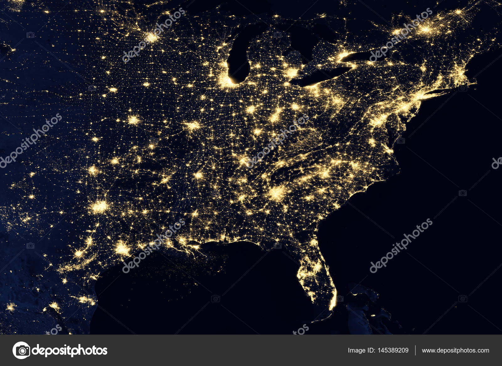 city lights on world map north america elements of this image are furnished by nasa photo by nasaimage